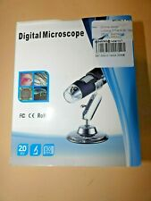 1600X 8LED 2MP Digitalmikroskop Microskope USB Lupe Fach PC HD Kamera+ Stand DE