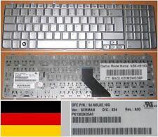 Teclado Qwertz Alemán HP PAVILION DV7 DV7-1000 NSK-H810G 9J.N0L82.10G Gris