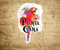 """Punta Cana Decal Sticker Dominican Republic 3.8"""" X 2.5"""" Laptop Car Bumper Water"""
