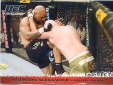 2009 TOPPS UFC ROUND 1 ONE ROOKIE RC DEBUT HOUSTON ALEXANDER VS. JARDINE #64