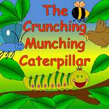 THE CRUNCHING MUNCHING CATERPILLAR resources on CD- Life cycle, minibeasts