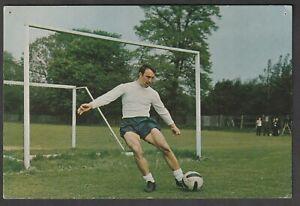 Collectors CLUB FOOTBALL postcard issue Jimmy Greaves TOTTENHAM HOTSPUR ENGLAND