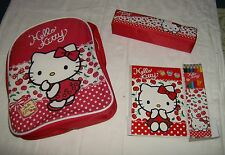 Hello Kitty Schulset 4 teilig