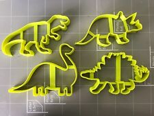 Dinosaur Cookie Cutters (Set Of 4)