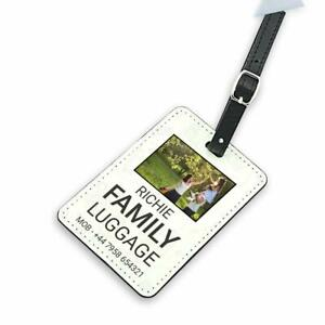 Personalised Luggage Tag Suitcase, Bag, Tag, Custom Printed with Your Name
