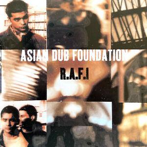 Asian Dub Foundation CD R.A.F.I - France (EX/G)
