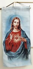 Jesus Tapestry Rug Christian Wall Hanging Blanket Wall Art Home Decor Rare Gift