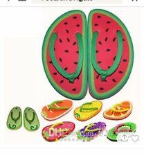 flip flops women kid summer beach slip-on fruits vegetables slippers style 1-8