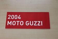 167573) Moto Guzzi - Modellprogramm - Prospekt 2004