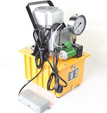 0.75KW High Pressure Electric Hydraulic Pump, ZCB-700A Hydraulic Motor Pump 220V