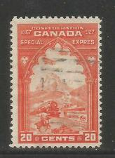 Canada 1927 Special Delivery-Attractive Transportation Topical (E3) used