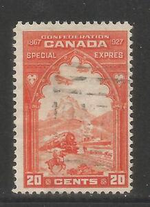 Canada 1927 Special Delivery--Attractive Transportation Topical (E3) used