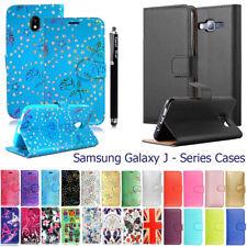 Case For Samsung Galaxy J3 J5 J4 J6 Plus J8 Phone Leather Flip Card Wallet Cover