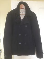Pepe Jeans Blue Summer Duffle Jacket For Men Size S