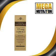 Solgar Liquide Vitamine D3 5000 Ui 2 Fl oz (59ml) Naturel Orange Parfum