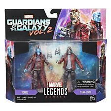 "Marvel Legends Guardians of The Galaxy Star-Lord & Yondu 2 Pack 3.75"" Figures"
