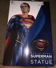 New/Sealed Gentle Giant Dc Direct, Man Of Steel Superman 12 Inch Statue