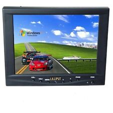 "Lilliput FA801-NP/C/T 8"" Mini LCD Monitor Touch Screen Car w Speakers Grade B"