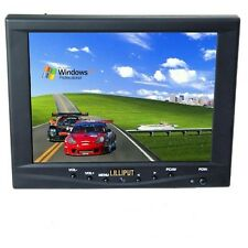 "Lilliput FA801-NP/C/T 8"" Mini LCD Monitor Touch Screen Car w Speakers Grade C"