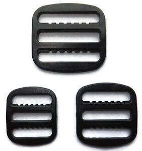 4 bar buckle for 15, 20 or 25mm webbing 10pcs adjuster clip strap fastener J11