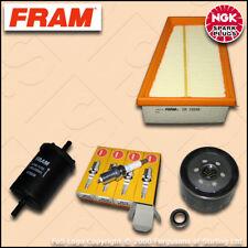 SERVICE KIT RENAULT CLIO MK2 1.4 16V FRAM OIL AIR FUEL FILTERS PLUGS (2000-2005)