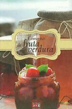 Conservas de frutas y verduras. NUEVO. Nacional URGENTE/Internac. económico. GAS