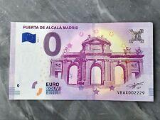 Billet touristique 0 Euro - Puerta de Alcala MADRID