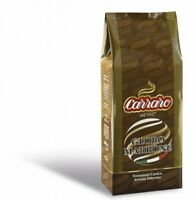 Carraro Coffee Globo Marrone Italian whole Coffee Beans 1KG - TRACKED SERVICE -