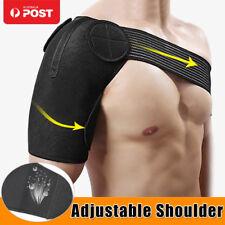 Adjustable Brace Shoulder Pad Protection Support Guard Strap Wrap Pain-relief OZ