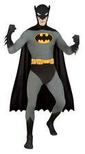 Mens Adult 2nd Skin Body Suit Stretch Batman Lycra Zentai Bodysuit Costume