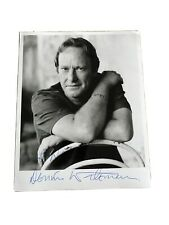 Dennis Waterman signed 10X8