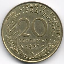 France :  20 Centimes 1987