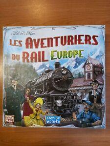 Les Aventuriers du Rail Europe Jeu de Plateau days of Wonder asmodee