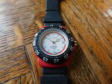 Vintage Courreges Swiss Date watch with original band and fresh battery (Rare)