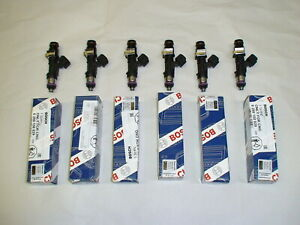 6 Genuine Bosch 210lb 2200cc 210# fuel injectors Buick Regal GN Ford BMW Falcon