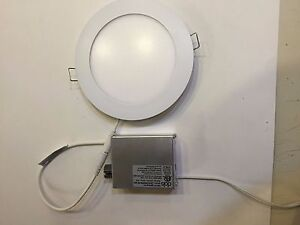 "6"" Recessed LED Lighting Low Profile Recess Panel Light Ceiling Panels Lamp NEW"