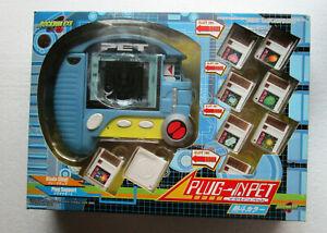 2005 Rare Rockman Exe pet in Blue Japanese Language MIB hard to find