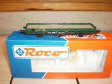 wagon plat à ranchers SNCB roco