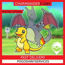 Pokemon Go - Shiny Charmander Community day - 100IV, 3&1, Hourly farm and more!