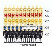 100 Pcs Minifigures Battle Droid Trooper Character Star Wars Lego MOC
