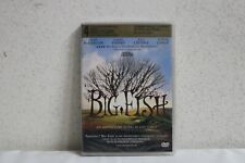 Big Fish (Dvd, 2004) New Sealed Free Shipping!