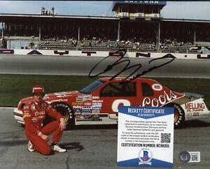 Bill Elliott NASCAR Signed 8x10 Photo AUTO Autograph Beckett BAS COA