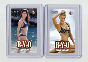 Eugenie Bouchard rare MH R-Y-O #'d 3/3 Tobacco card no. 226
