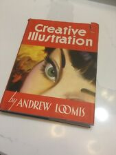 Creative Illustration by Andrew Loomis, 1947 Hardcover, First Ed./First Printing