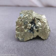 Stupenda PIRITE Isola d'Elba con EMATITE Grezza Cristallo Minerale Chakra Reiki