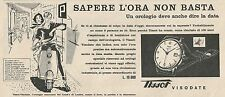 W1821 Orologio TISSOT Visodate - Pubblicità 1958 - Vintage Advertising