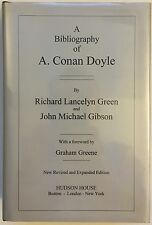 A Bibliography of A. Conan Doyle - Richard L. Green - FINE 1st H/C Edition 2000