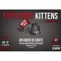 Gioco da Tavolo - Exploding Kittens Edizione VM18 - Asmodee ITALIANO NUOVO #NSF3