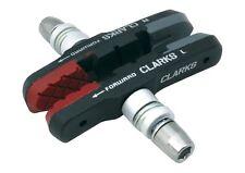 Clarks Bremsschuhe V-Brake dreifarbig mit Schraubbefestigung  Fahrrad Bremsen