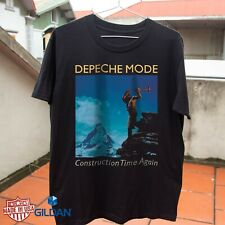 New listing Depeche Mode Construction Time T-shirt Free Shipping Size S-3XL